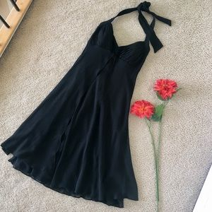 🌷White House Black Market Halter Dress